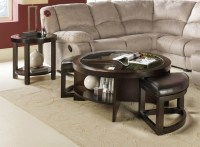 Round Coffee Table With Stools Underneath | Coffee Table ...
