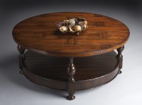 Round Distressed Coffee Table | Coffee Table Design Ideas