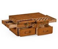 Rustic Chest Coffee Table | Coffee Table Design Ideas