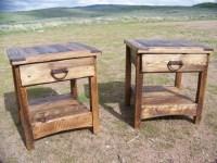 Rustic End Table Ideas | Coffee Table Design Ideas