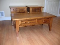 Rustic Pine End Table | Coffee Table Design Ideas