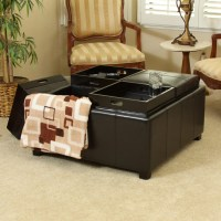 Storage Coffee Table Ottomans | Coffee Table Design Ideas