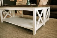 White Distressed Coffee Table | Coffee Table Design Ideas