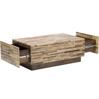Wooden Coffee Table With Drawers | Coffee Table Design Ideas