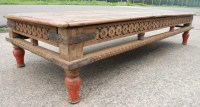 Large Rustic Coffee Table | Coffee Table Design Ideas