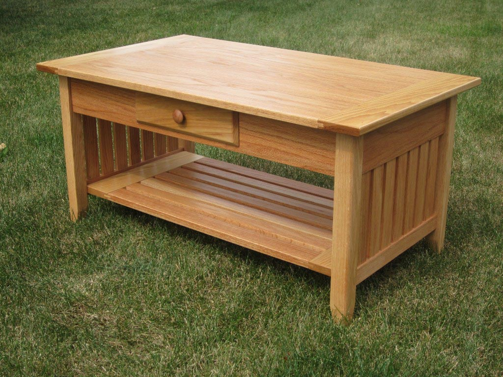 Mission Style Coffee Table Plans Free