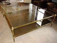 Oversized Glass Coffee Table | Coffee Table Design Ideas
