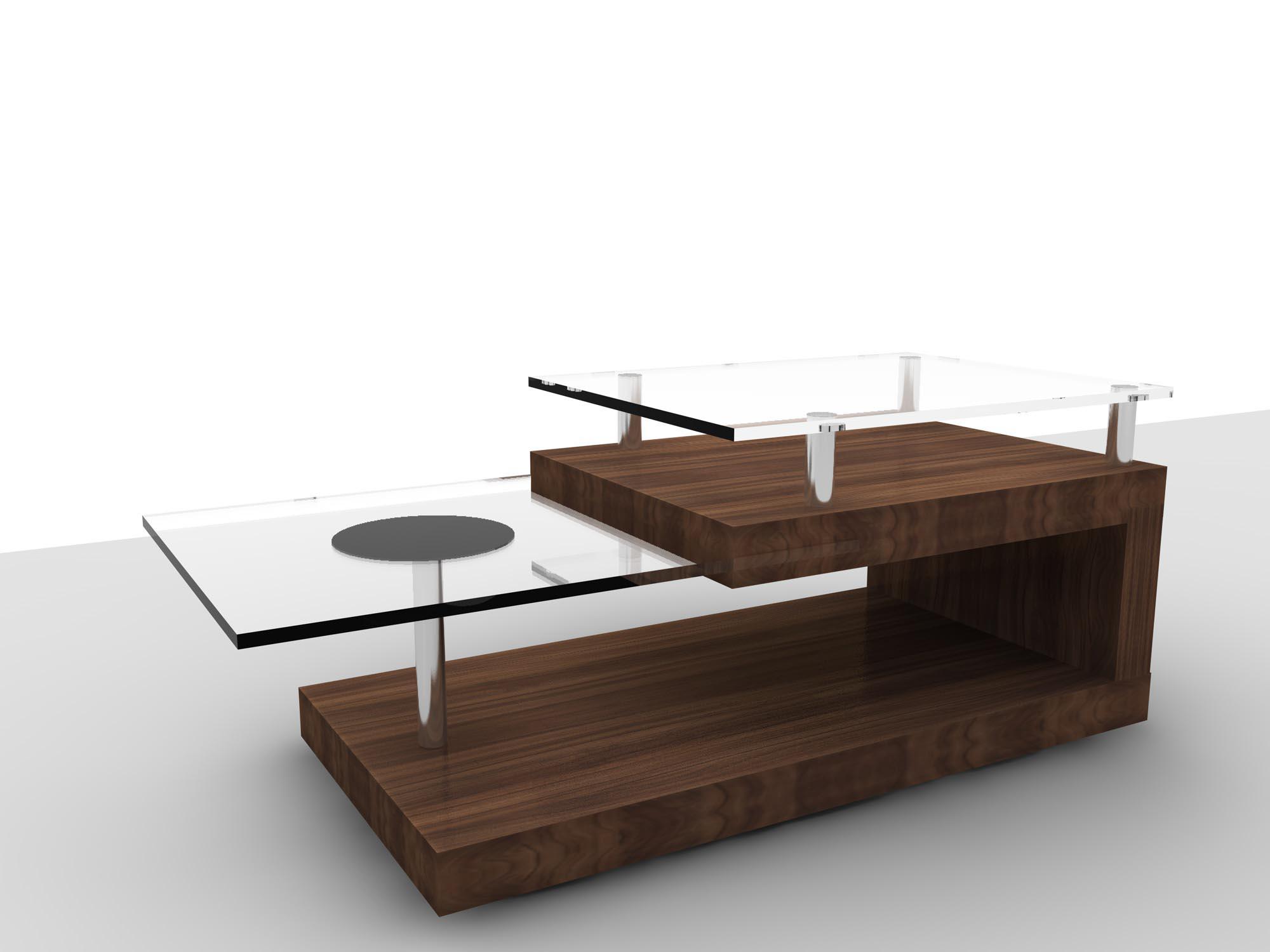 Retro Modern Coffee Table