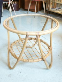 Round Bamboo Coffee Table | Coffee Table Design Ideas