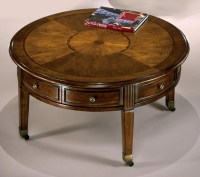 Round Vintage Coffee Table | Coffee Table Design Ideas