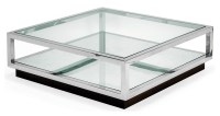 Silver And Glass Coffee Table | Coffee Table Design Ideas