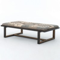 Upholstered Coffee Table Bench | Coffee Table Design Ideas
