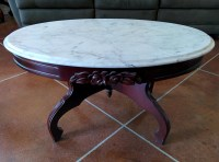 Vintage Marble Coffee Table | Coffee Table Design Ideas