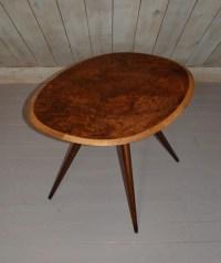 Vintage Oval Coffee Table   Coffee Table Design Ideas