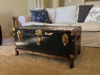 Vintage Trunk Coffee Table | Coffee Table Design Ideas