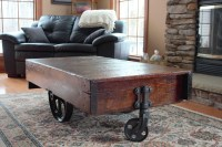 Antique Coffee Table With Wheels | Coffee Table Design Ideas