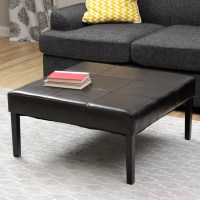 Black Leather Coffee Table | Coffee Table Design Ideas