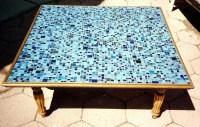 Blue Mosaic Coffee Table | Coffee Table Design Ideas