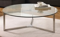 Circle Glass Coffee Table | Coffee Table Design Ideas