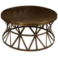 Circle Metal Coffee Table | Coffee Table Design Ideas