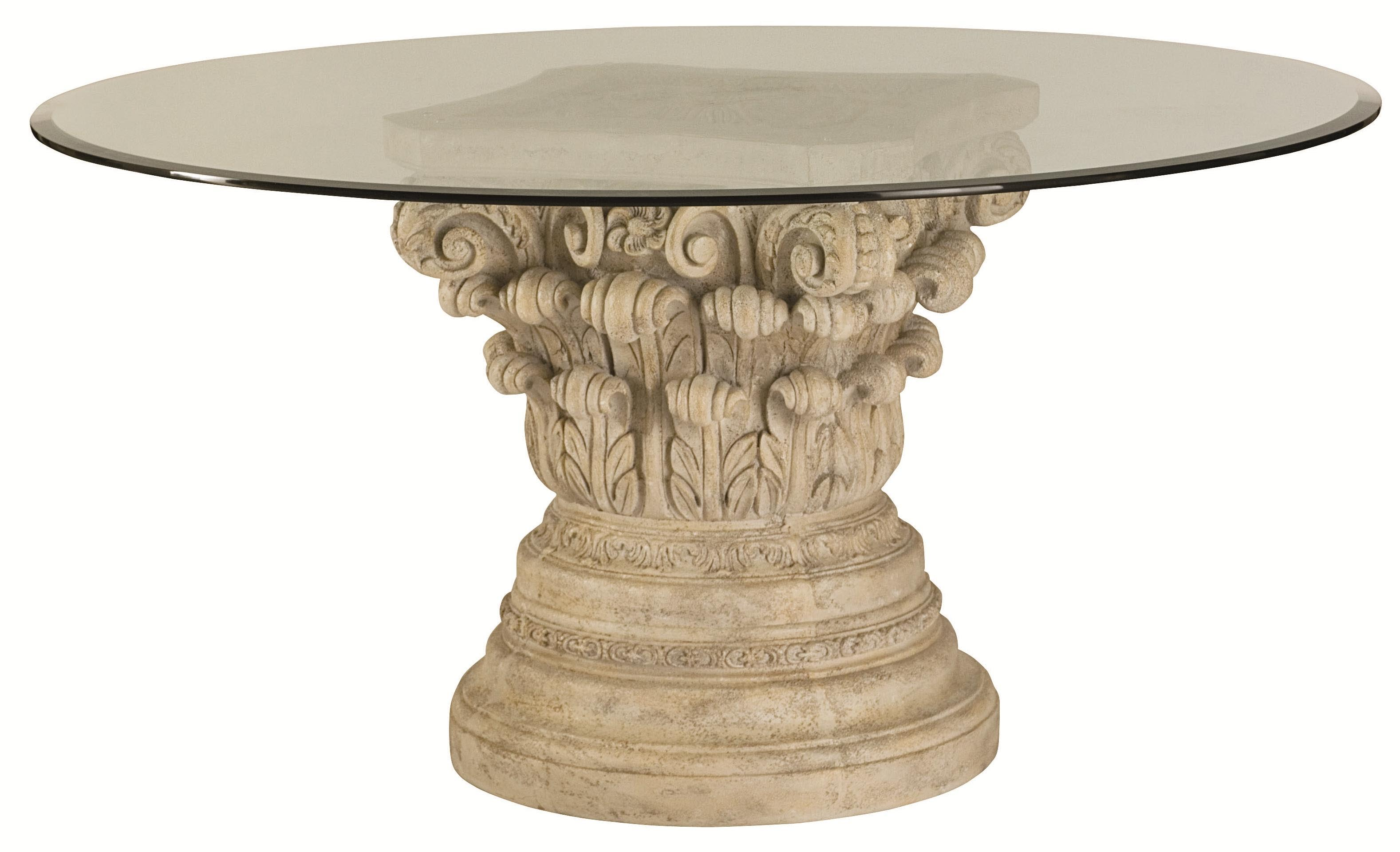 Coffee Table Pedestal Base