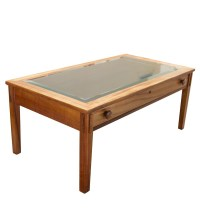 Coffee Table With Display Drawer