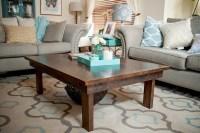 Custom Reclaimed Wood Coffee Table | Coffee Table Design Ideas