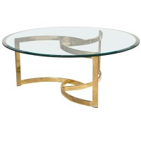 Glass Coffee Table Gold Legs | Coffee Table Design Ideas