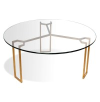 Glass Gold Coffee Table | Coffee Table Design Ideas