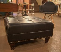 Large Leather Ottoman Coffee Table | Coffee Table Design Ideas