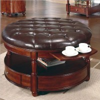 Leather Top Coffee Table | Coffee Table Design Ideas