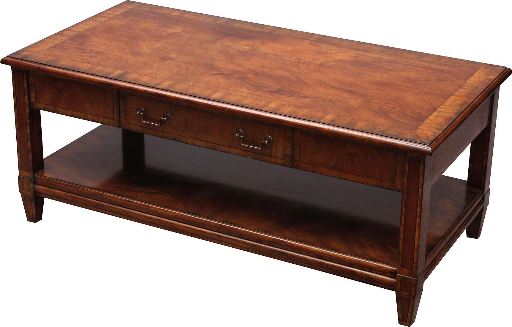 Mahogany Coffee Table Antique
