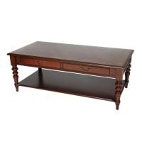 Mahogany Coffee Table With Shelf | Coffee Table Design Ideas