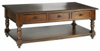 Mahogany Coffee Tables With Drawers