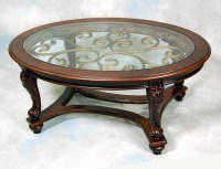 Mahogany Glass Coffee Table | Coffee Table Design Ideas