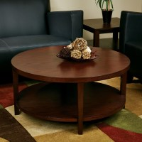 Mahogany Round Coffee Table | Coffee Table Design Ideas