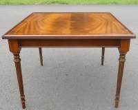 Mahogany Square Coffee Table