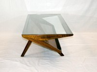Mid Century Modern Glass Coffee Table | Coffee Table ...
