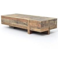 Modern Rustic Coffee Table   Coffee Table Design Ideas