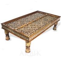 Moroccan Door Table & Living Rooms Liding Barn Door Kit ...