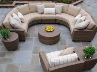 Outdoor Round Patio Coffee Table | Coffee Table Design Ideas