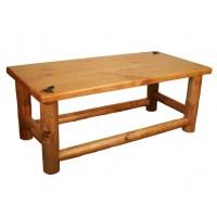 Pine Log Coffee Table | Coffee Table Design Ideas