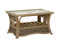 Rattan And Glass Coffee Table | Coffee Table Design Ideas