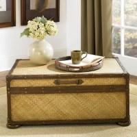 Rattan Coffee Table Trunk | Coffee Table Design Ideas