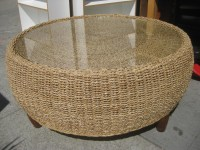 Rattan Coffee Table With Glass Top | Coffee Table Design Ideas
