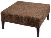 Rattan Ottoman Coffee Table | Coffee Table Design Ideas