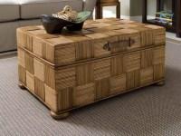 Rattan Storage Coffee Table