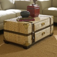 Rattan Trunk Coffee Table | Coffee Table Design Ideas