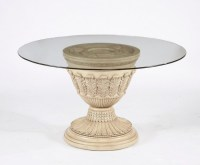 Round Glass Pedestal Coffee Table | Coffee Table Design Ideas