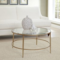 Round Gold Coffee Table | Coffee Table Design Ideas
